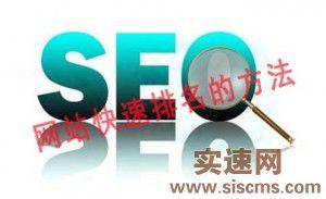 大地seo教程:网站快速排名的方法